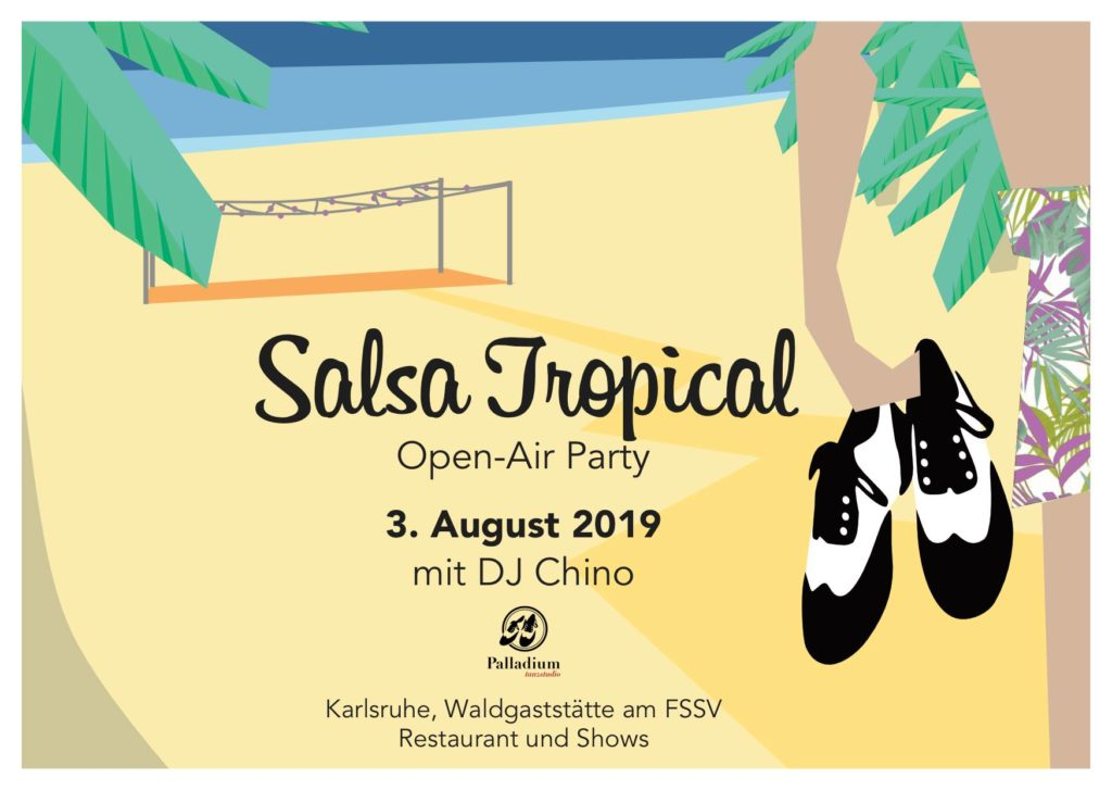 Salsa Tropical Open-Air Party 3. August 2019 Karlsruhe
